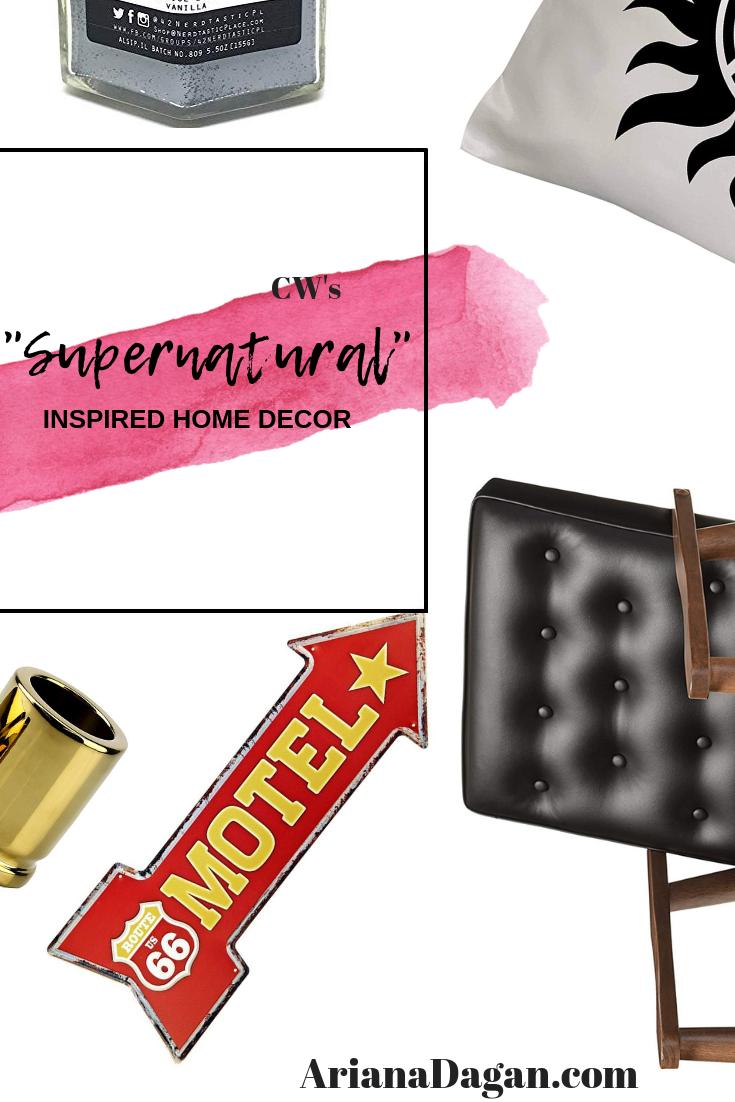 supernatural inspired home decor