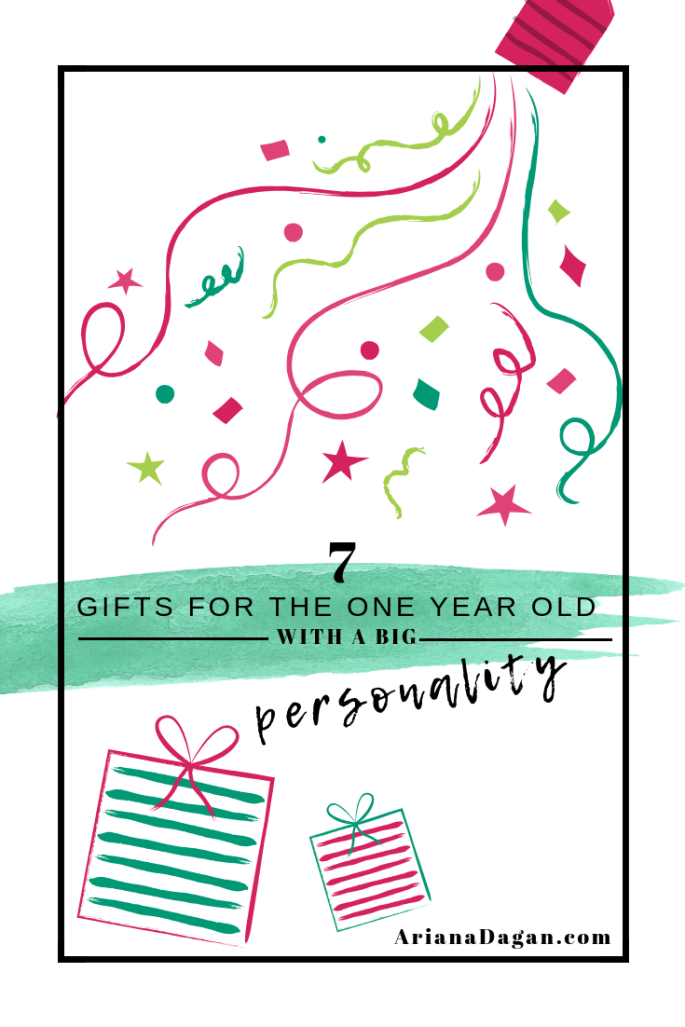 7 Gifts for the One Year Old With a Big Personality