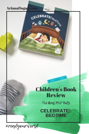 CELEBRATE! BEDTIME childrens book review by ariana dagan