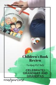 CELEBRATE! GRANDMAS AND GRANDPAS childrens book review by ariana dagan