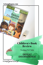 defeat disobedience childrens book review by ariana dagan
