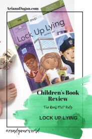 lock up lying childrens book review by ariana dagan