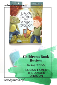 LUCAS TAMES THE ANGER DRAGON childrens book review by ariana dagan