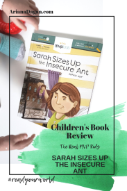 sarah sizes up the insecure ant childrens book review by ariana dagan