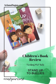stand up to bullies childrens book review by ariana dagan