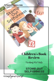 stomp out selfishness childrens book review by ariana dagan